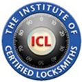 The institute of certified locksmiths logo